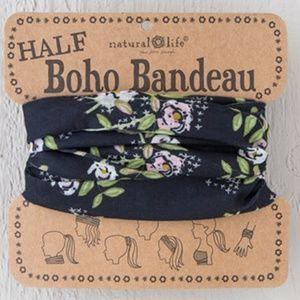 Floral Half Boho Bandeau